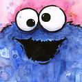 Cookie Monster by Olga Shvartsur