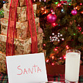 Cookies And Milk For Santa by Anthony Totah