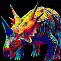 Cool Dinosaur Color Designed Creature by Super Katillz