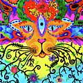 Cool Kitty Cat by Marina Hackett