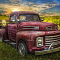 Cool Old Ford by Debra and Dave Vanderlaan