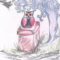 Cool Owl by Teresa White