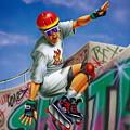 Cool Skater by Patrick Hoenderkamp