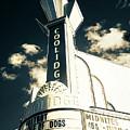 Coolidge Corner Theatre In Infrared by Joann Vitali