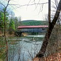 Coombs Covered Bridge by Wayne Toutaint