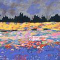 cooney sunset I by Mykul Anjelo