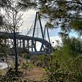 Cooper River Bridge Afternoon by Aaron  Shortt