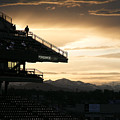 Coors Field At Sunset by Marilyn Hunt
