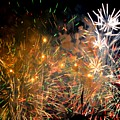 Coors Field Fireworks 3 by Dave Masters