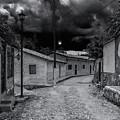 Copala Cobblestone Street by Javier Flores