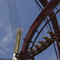 Copenhagen, Denmark, Rollercoaster Ride by Keenpress