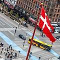 Copenhagen Downtown Traffic by Leonardo Patrizi