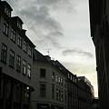 Copenhagen Facades In Shades Of Grey by Vineta Marinovic