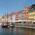 Copenhagen Harbor by Mary Lane