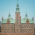 Copenhagen Rosenborg Castle Back Facade by Antony McAulay