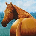 Copper Bottom - Quarter Horse by Pauline Sharp