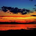 Copper Dawn At Copper Harbor by Jeff Kurtz