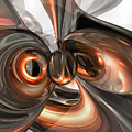 Copper Dreams Abstract by Alexander Butler