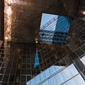 Copper Glass And Steel Geometry - Fabulous Modern Architecture In London U K by Georgia Mizuleva