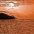 Copper Plate Sunrise by Bob Slitzan