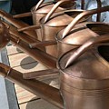 Copper Watering Cans by Rebecca Marona