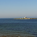 Coquet Island And Lighthouse by Elena Perelman