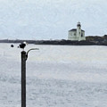 Coquille Lighthouse by Betty LaRue