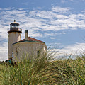 Coquille Lighthouse H by Inge Riis McDonald