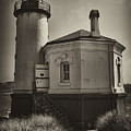 Coquille River Lighthouse by Hugh Smith