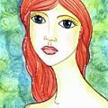 Coralia, The Mermaid by Sarena Mantz