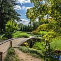 Corbel Arch Bridge Japanese Garden Maymont by Karen Jorstad