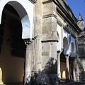 Cordoba Mosque Exterior Architecture Columns II Spain by John Shiron