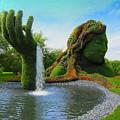 Corey Rockafeler - Mother Nature Fountain by Corey Rockafeler
