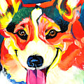 Corgi - Chance by Alicia VanNoy Call