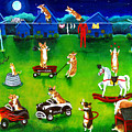 Corgi Backyard Circus by Lyn Cook