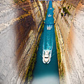 Corinth Canal  by Don Kuing