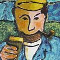 Cork Fisherman by Richard W Dillon