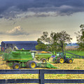 Corn Harst No2 by Sam Davis Johnson