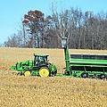 Corn Harvest by Bonfire Photography