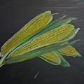 Corn On The Cob by Richard Le Page