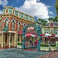 Corner Cafe Main Street Disneyland 01 by Thomas Woolworth