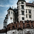 Corner Castle Gothic Style by Sharon Popek