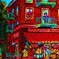 Corner Flowershop by Carole Spandau