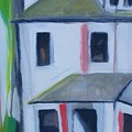 Corner House On Staten Island by Ron Erickson