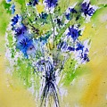 Cornflowers by Pol Ledent