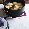 Cornmeal Dumplings by Romulo Yanes