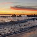 Corona Del Mar Panoramic by Cliff Wassmann
