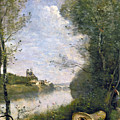 Corot: Cathedral, C1855-60 by Granger