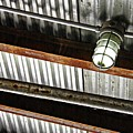 Corrugated Metal Abstract 10 by Sarah Loft