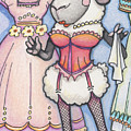 Corsetted Sheep by Amy S Turner